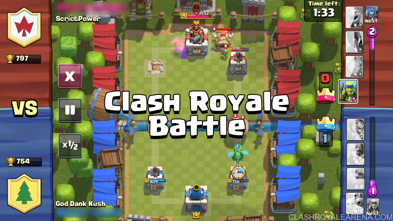 Clash Royale Battle – Basic Rules