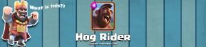 Clash Royale Hog Rider