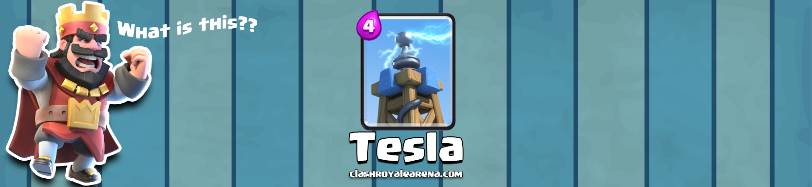 Clash Royale Tesla