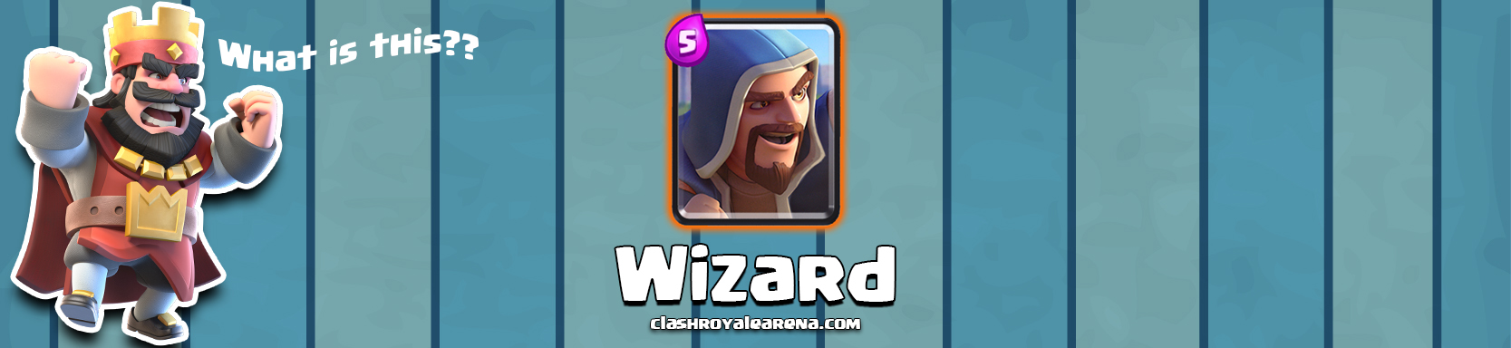 Clash Royale Wizard