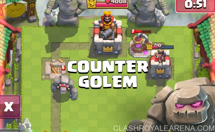 How To Deal With Golem Elixir Combo Clash Royale Guides