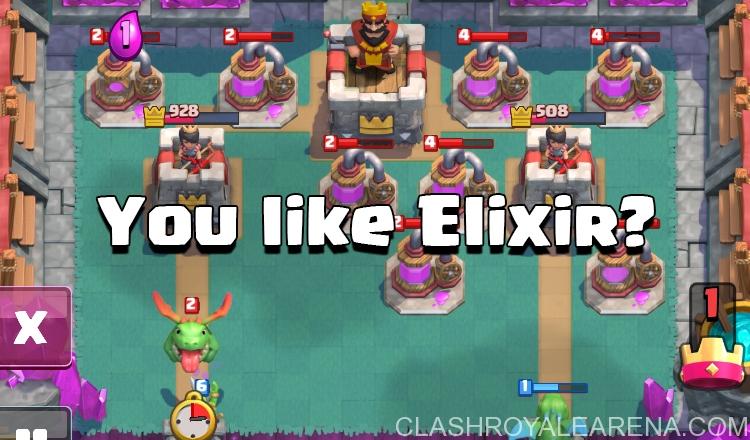 Elixir Clash Royale