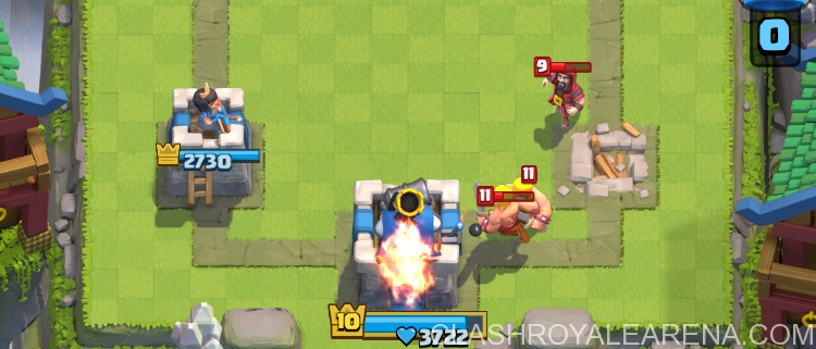 King's Tower in Clash Royale