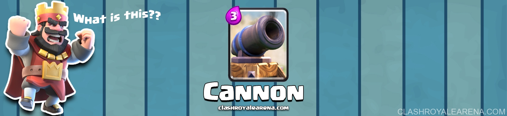 Clash Royale Cannon