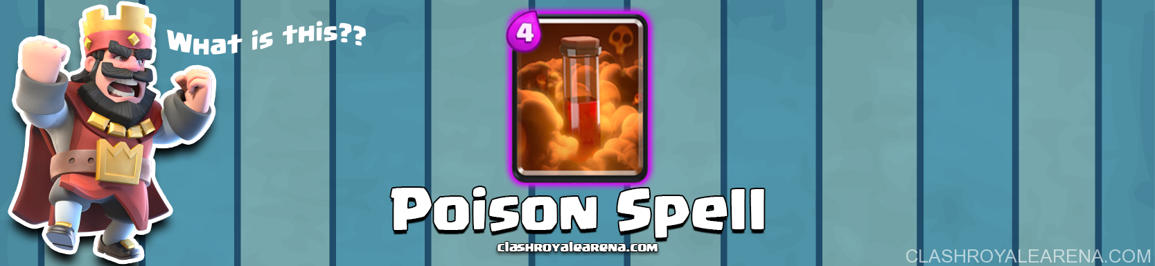 Clash Royale Poison Spell