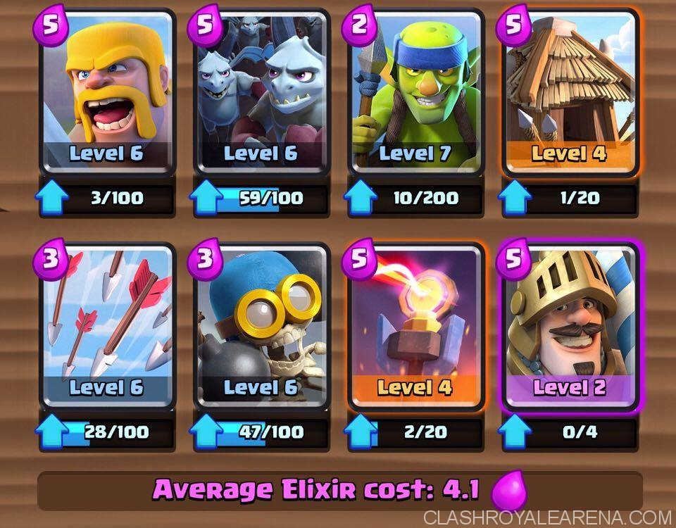 Arena 4 Deck Prince Squad Clash Royale Guides