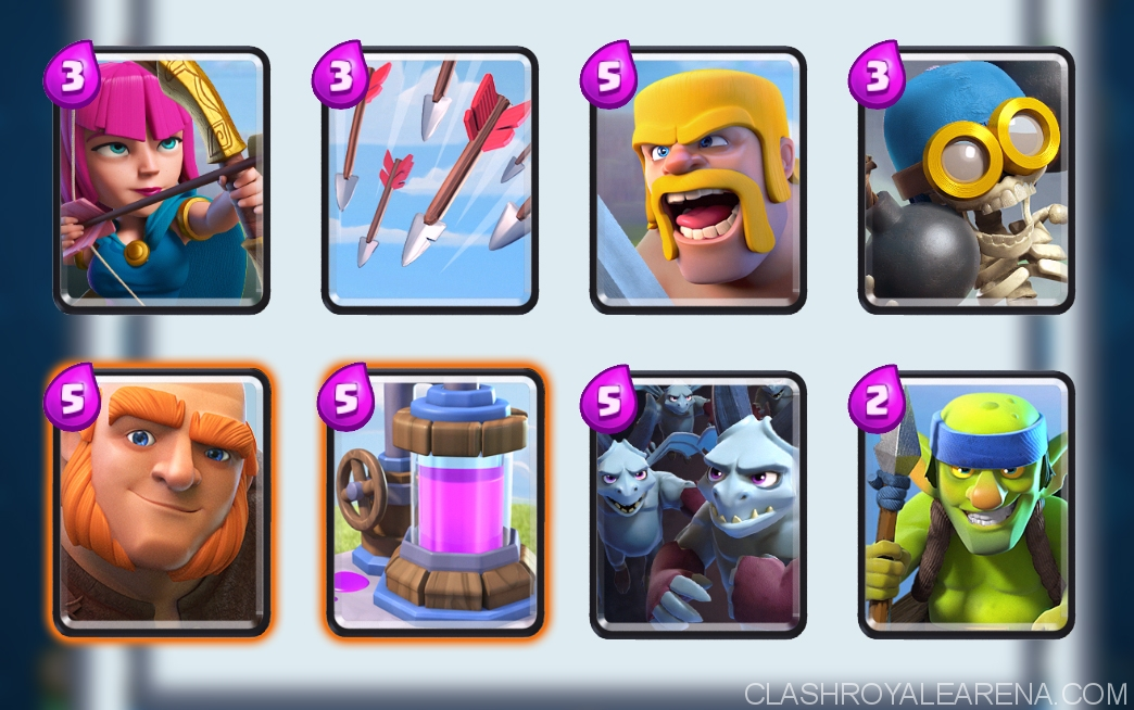 Best arena 6 deck without epic cards replays for Deck arene 6 miroir