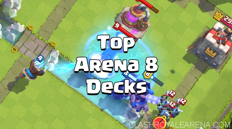 Top Arena 8 Decks