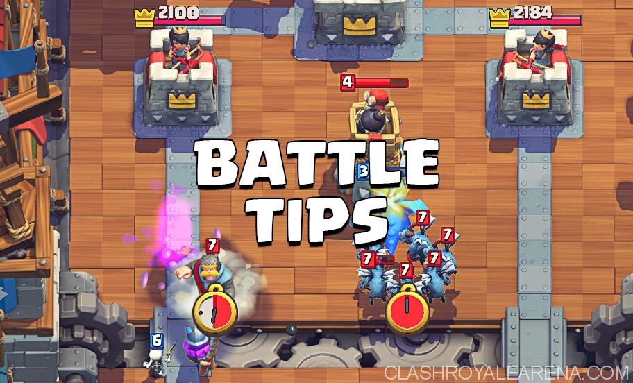 clash royale battle tips