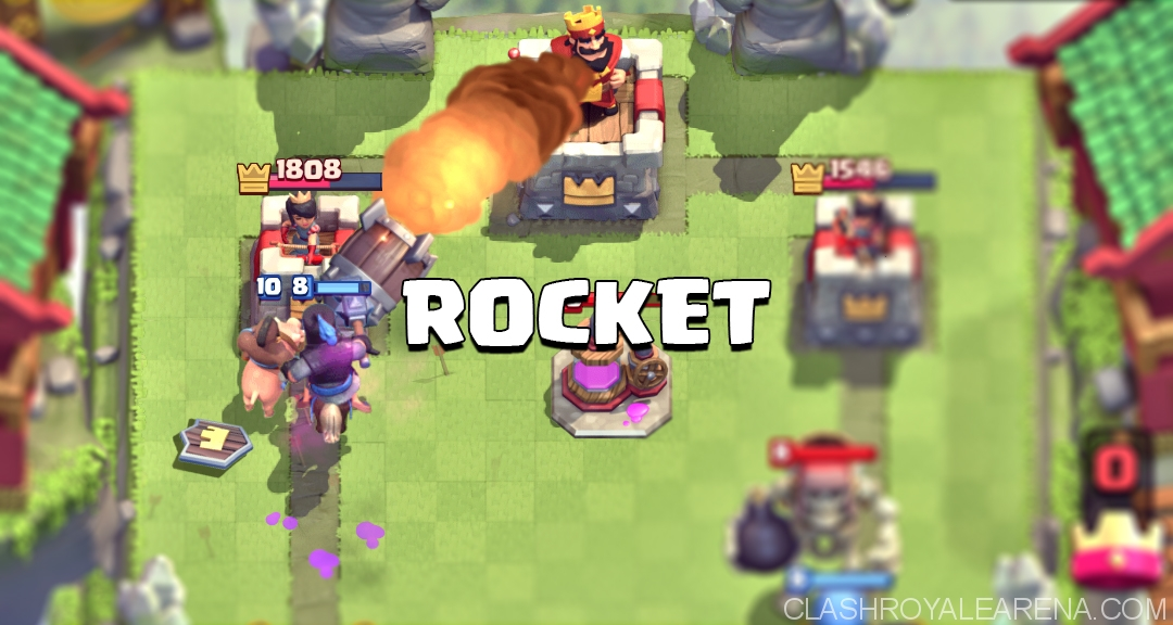 Clash Royale Rocket