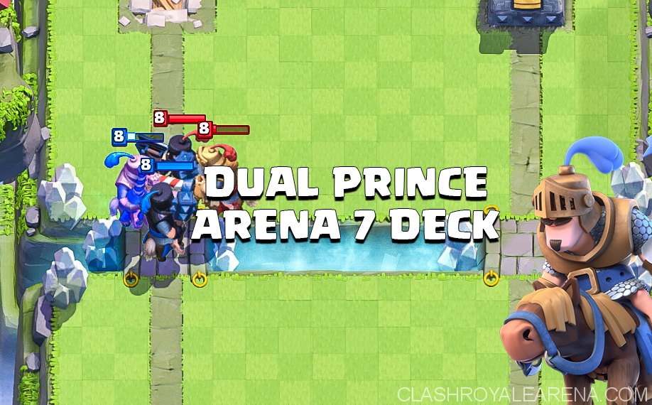 Clash Royale Dual Prince Deck