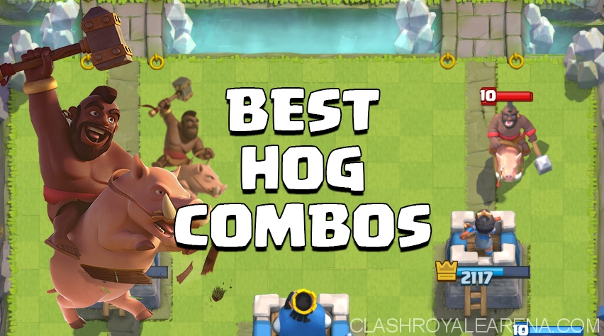 Best Hog Rider Combos in Clash Royale