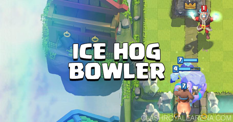 Hog Rider Bowler Ice Golem