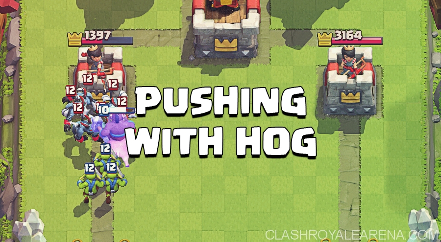 Pushing with Hog