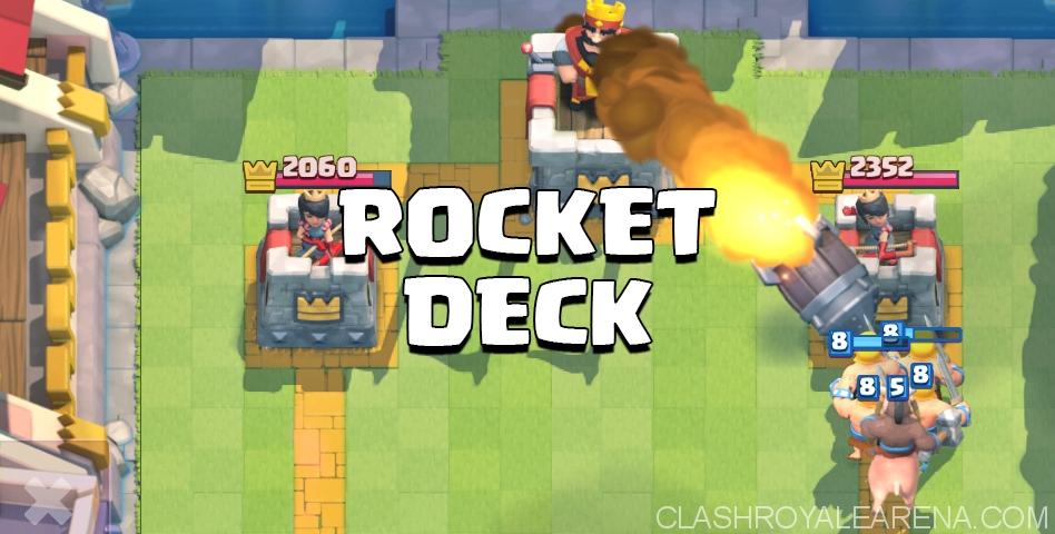 Clash Royale Rocket Deck
