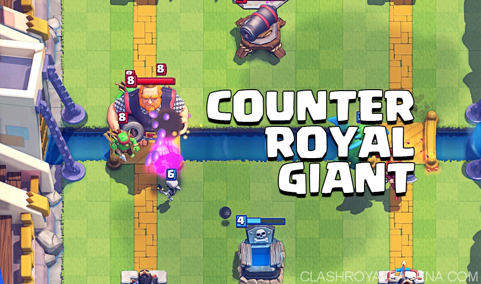 Counter Clash Royale Royal Giant