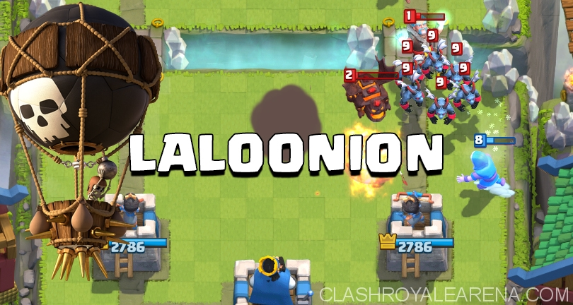 Lavaloonion Deck For Arena 7 And 8 Clash Royale Guides