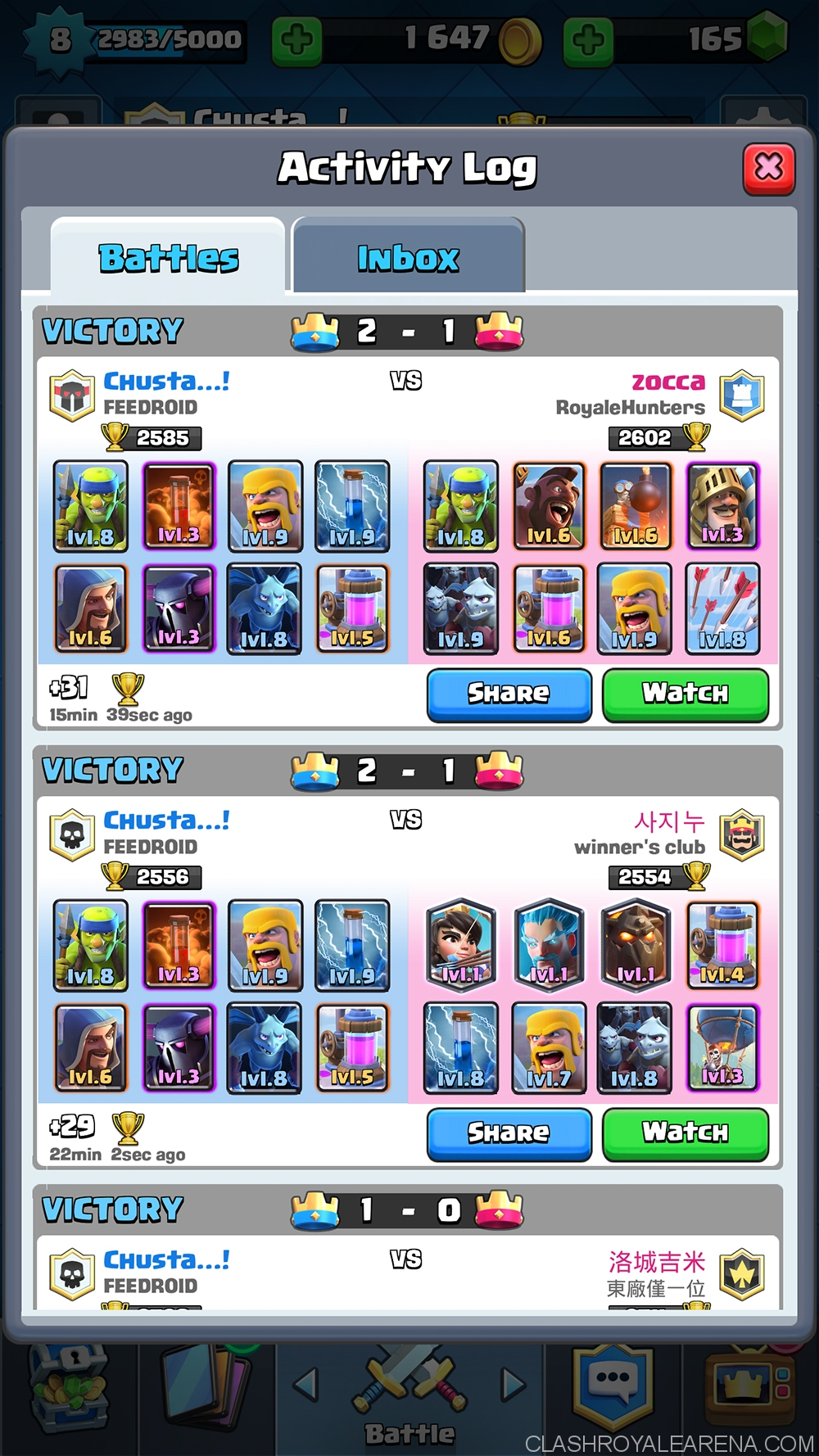 Glorious p e k k a deck for arena 7 clash royale guides for Deck pekka arene 6