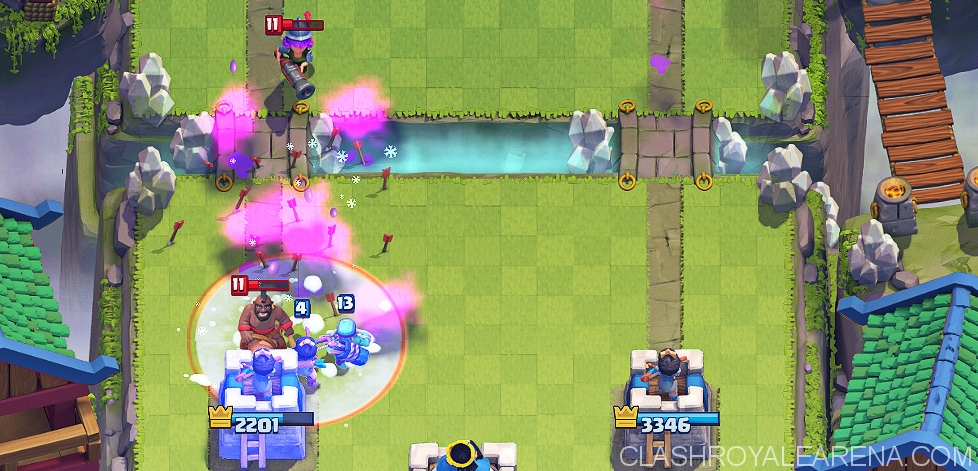 Hog Rider Freeze Deck from Top Players
