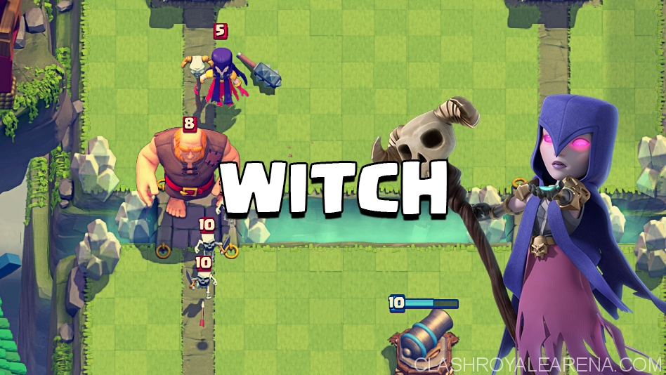Arena 8 Witch Deck Clash Royale