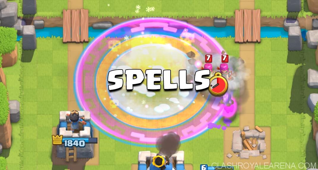 Clash Royale Spells