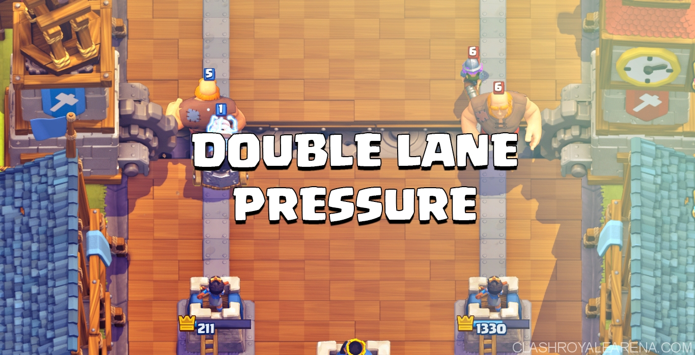 How to Double Lane Pressure