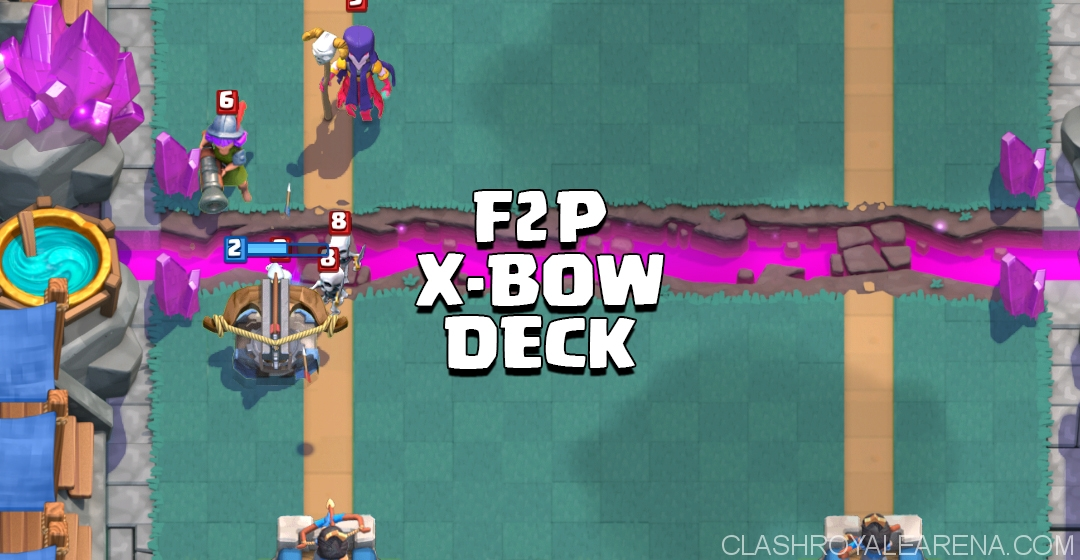 Arena 5 Free-To-Play X-Bow Deck