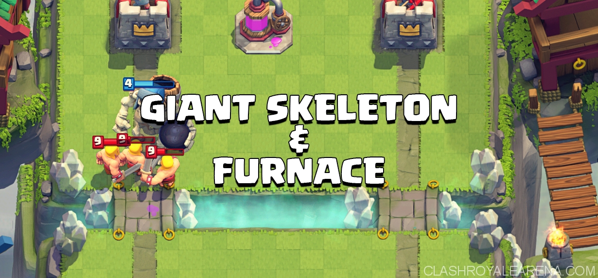 Giant Skeleton Furnace Deck