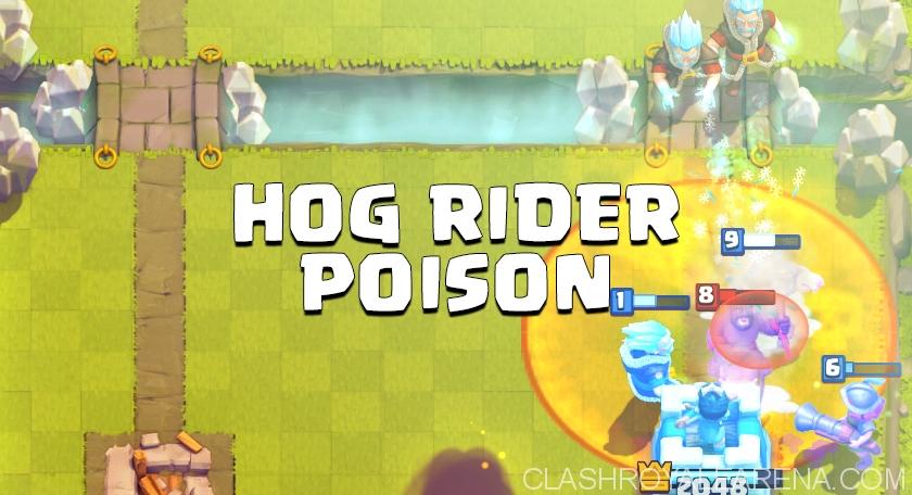 Hog Poison Deck for Arena 6