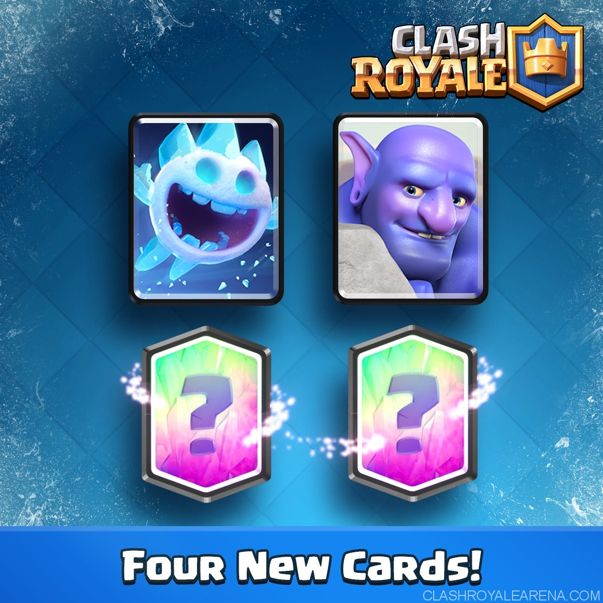 how to get all legendaries in clash royal level 1