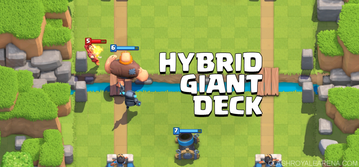 Hybrid Giant Deck
