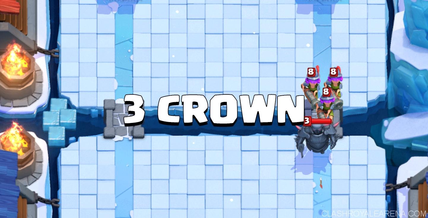 3 crown deck clash royale