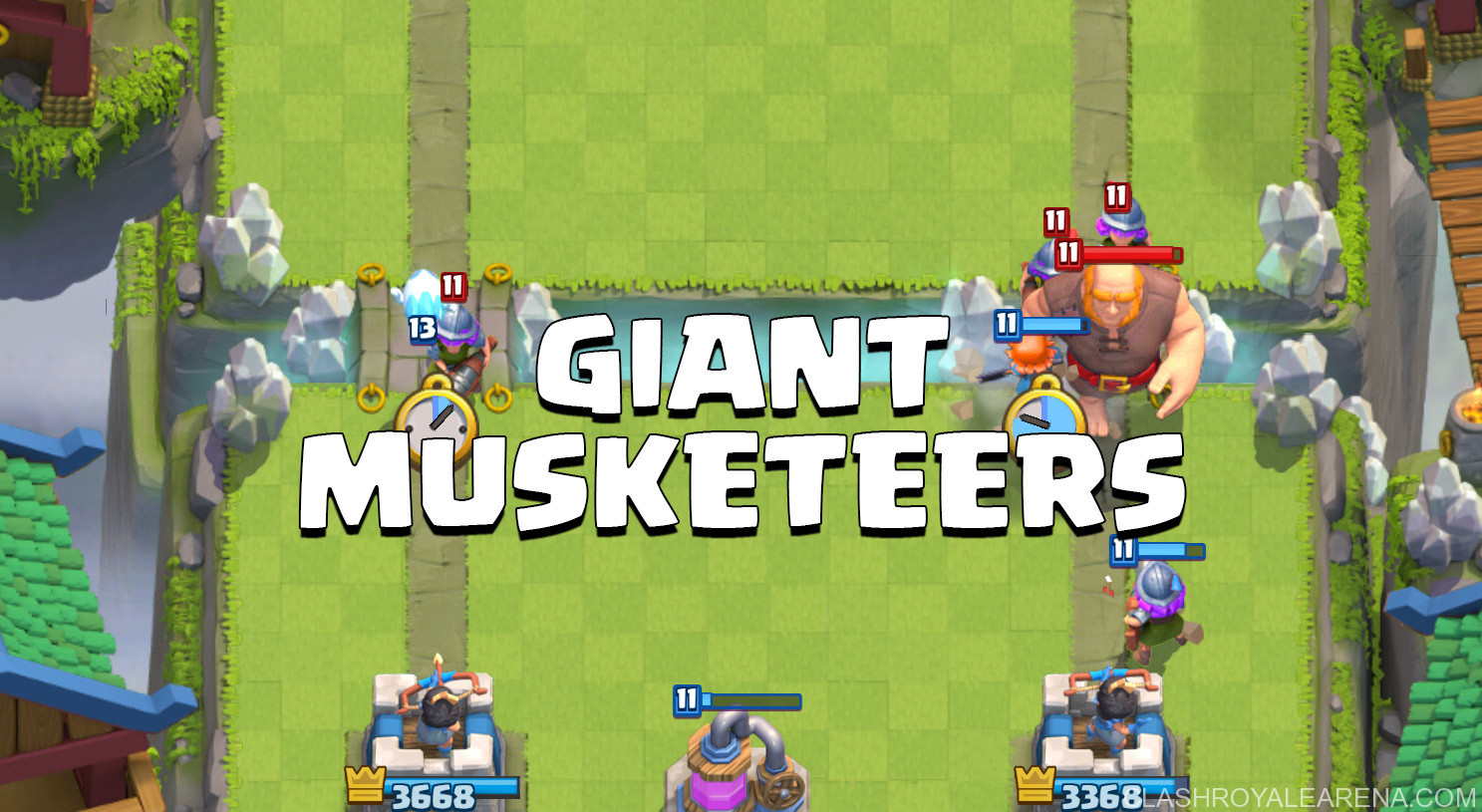 Giant Musketeers Deck