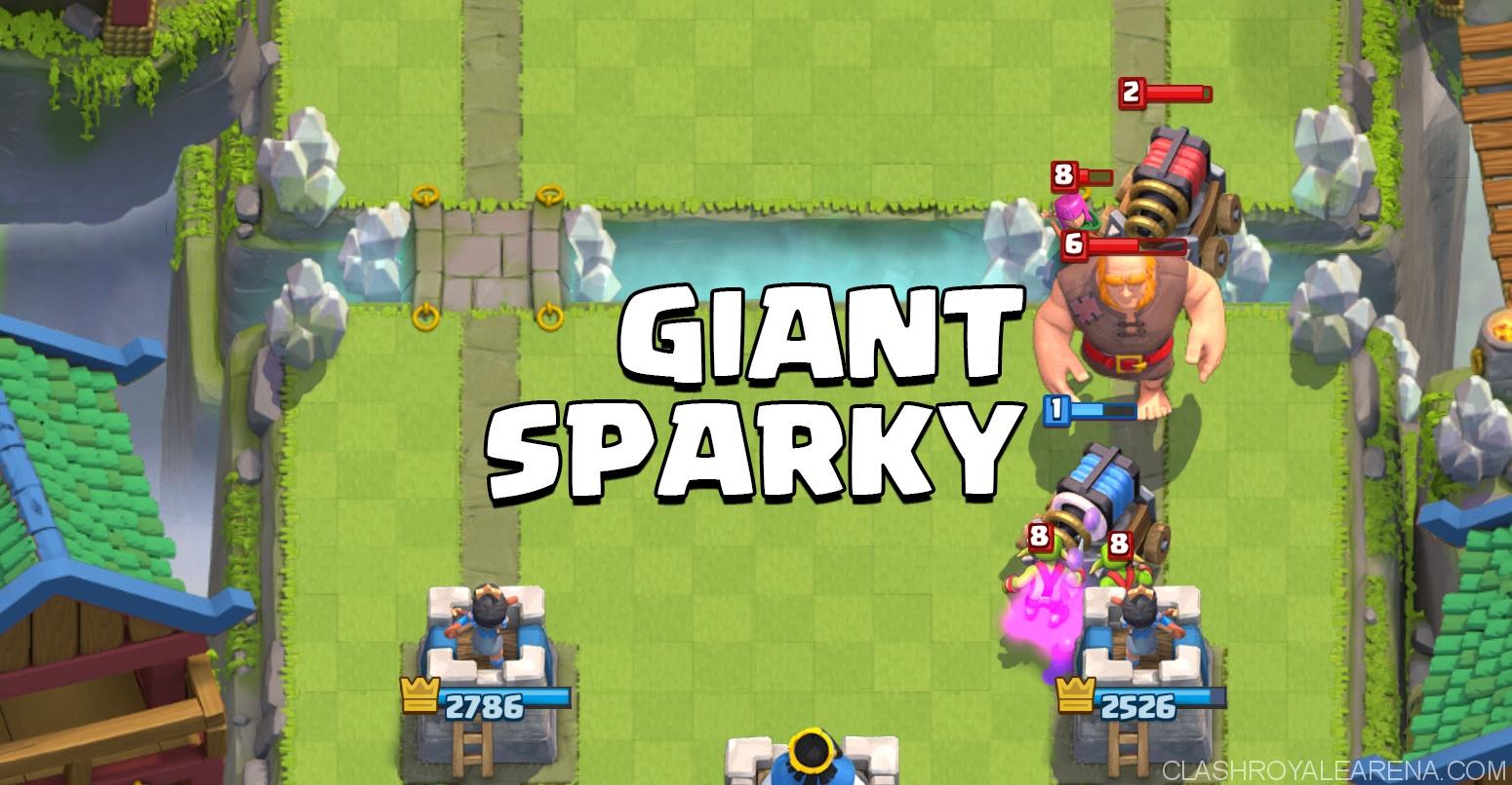 Giant Sparky Deck