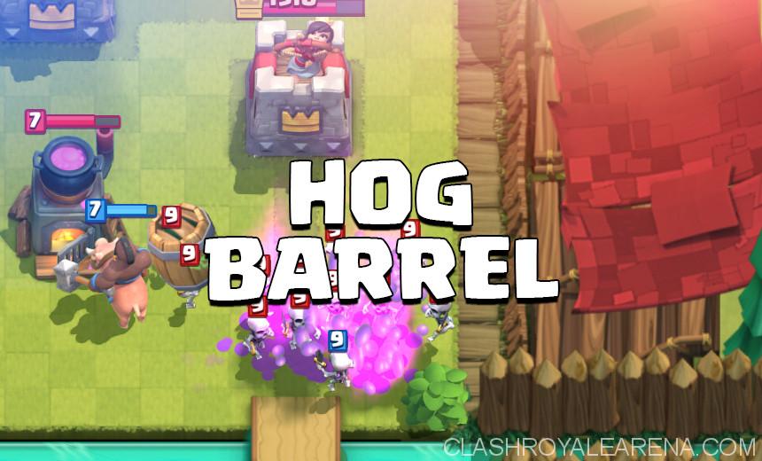 Hog Rider Goblin Barrel