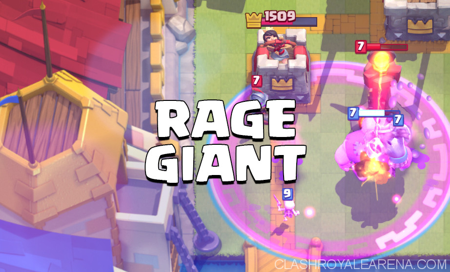 Best Clash Royale Rage Deck