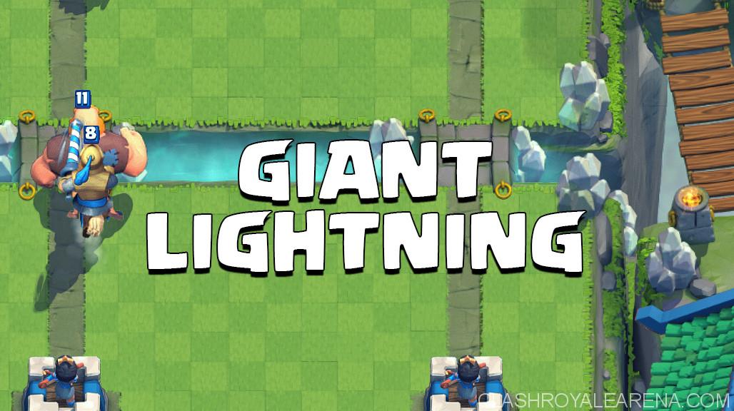 giant lightning