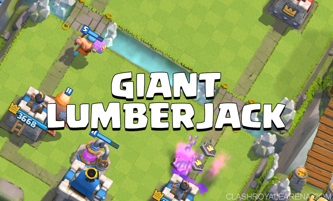 Lumberjack Log Giant Beatdown Deck
