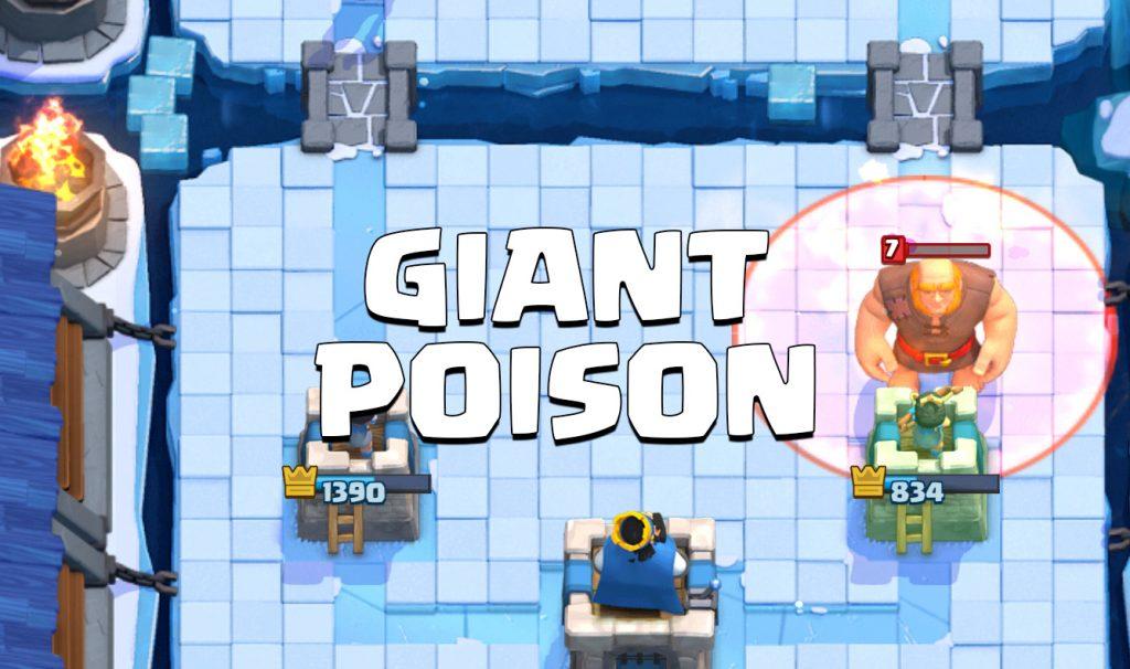 arena 8 deck giant poison