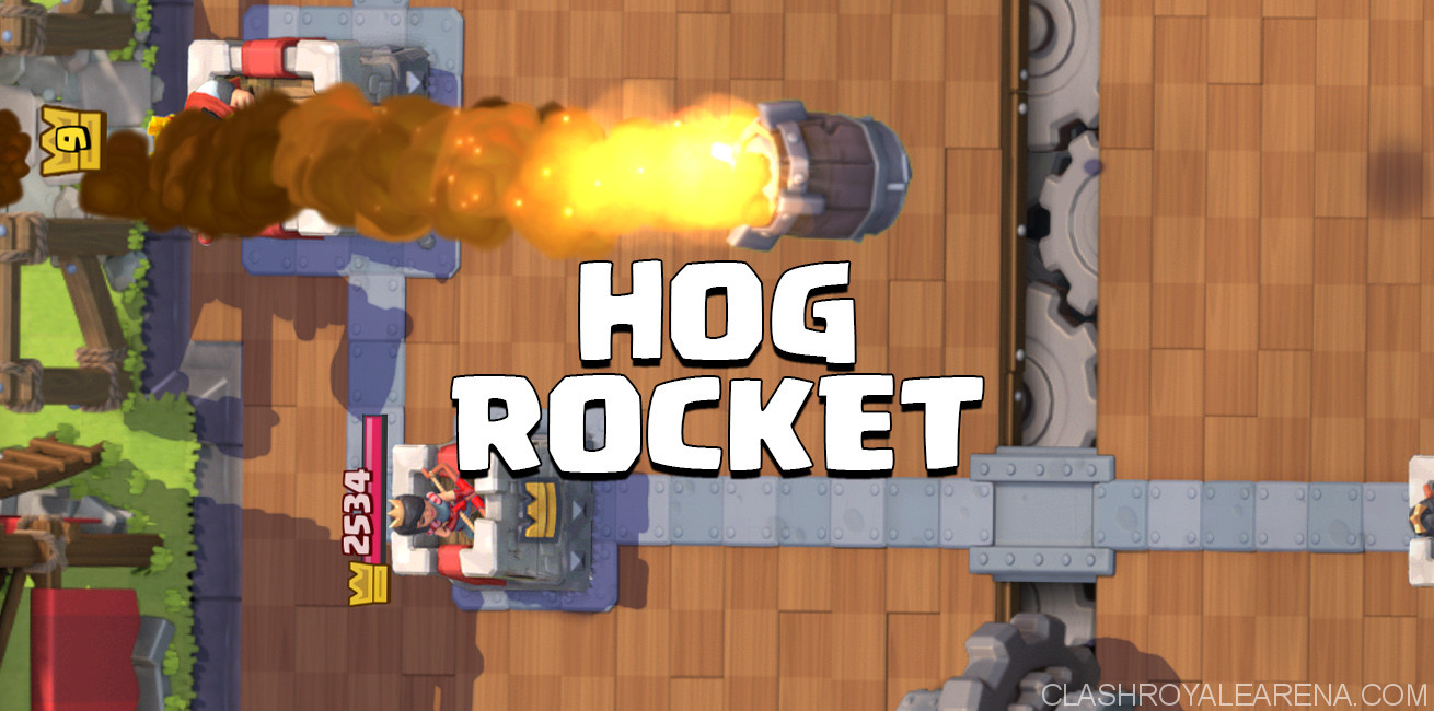 Hog Rocket Deck