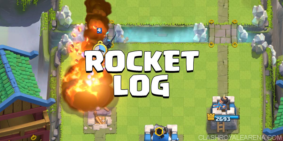 rocket log deck