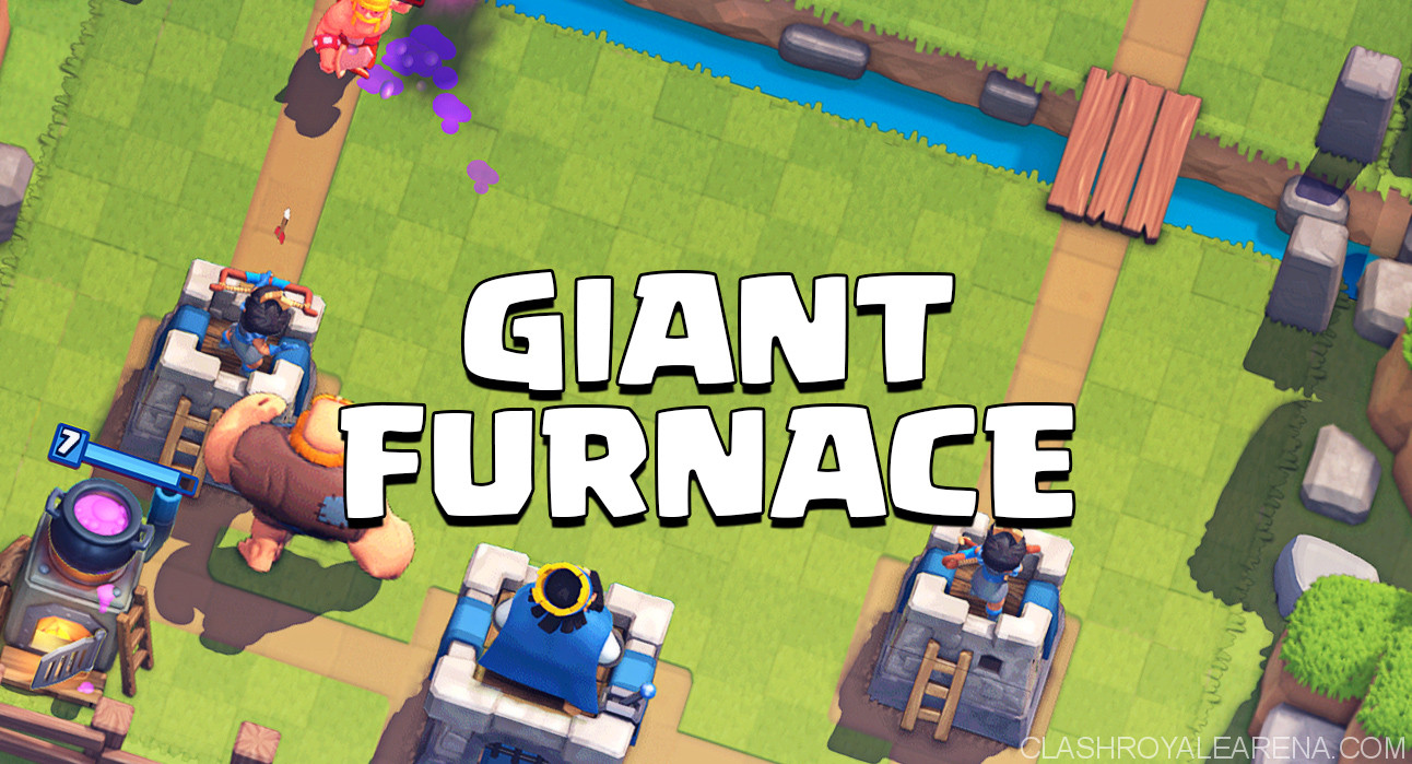 Giant Furnace Control Deck