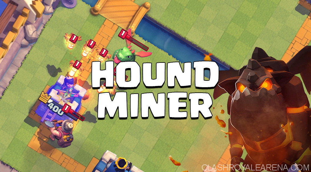 Lava Hound Miner Deck