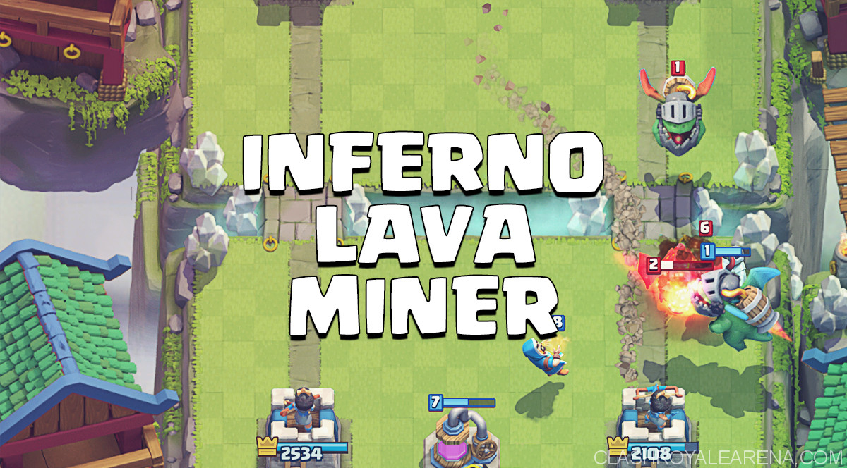 Lava Miner Inferno Deck