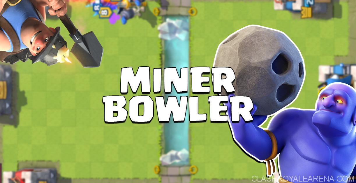 Miner Bowler Deck