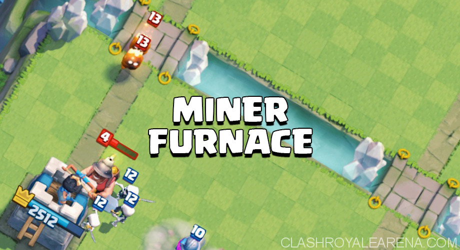 Miner Furnace Deck for Arena 8