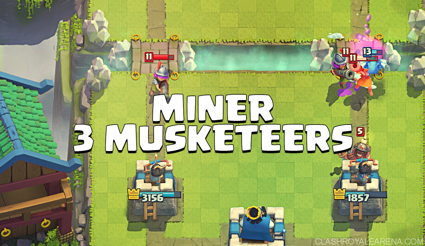 Miner Three Musketeers Deck