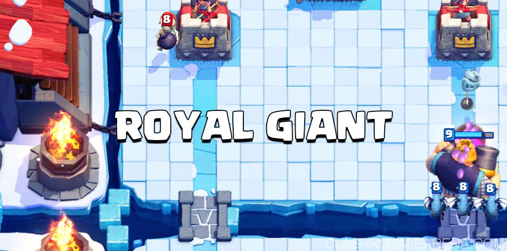 Royal Giant Counterpushing Deck