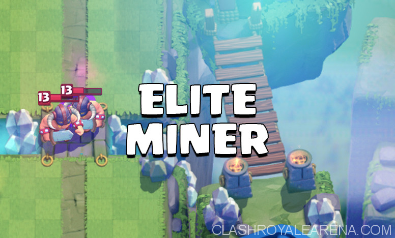 Elite Barbarians Miner Deck