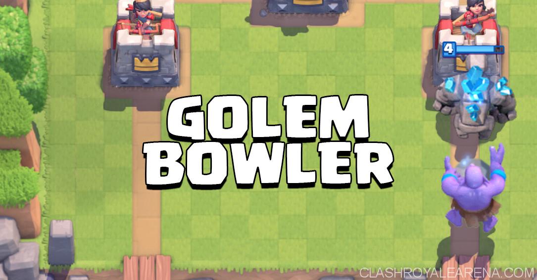 Golem Bowler Deck